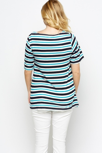 Multi Stripe Top