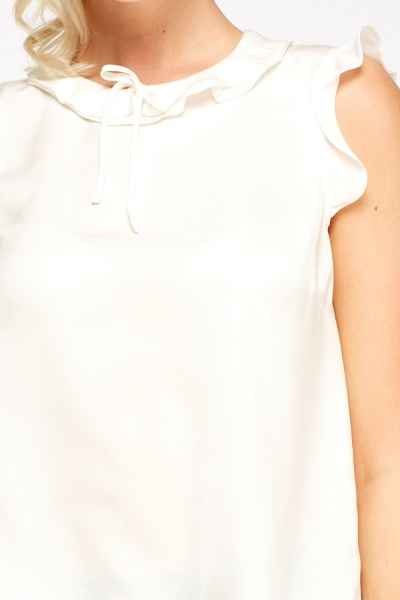 Flare Trim Cream Top