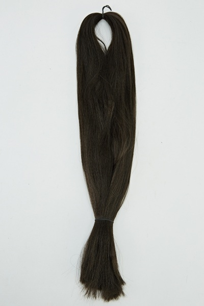 Image of Chocolate Brown Weft Hair For Braids