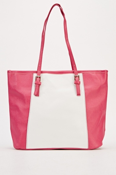 Image of Contrast Panel Tote Bag