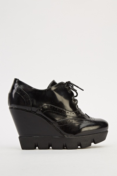 Wedge Heel Brogues