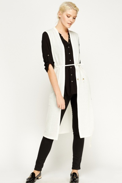 Image of Duster Long Line Cardigan