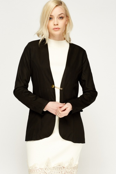 Chained Detailed Blazer