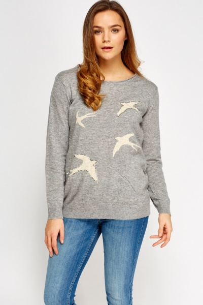 Bird Sequin Jumper