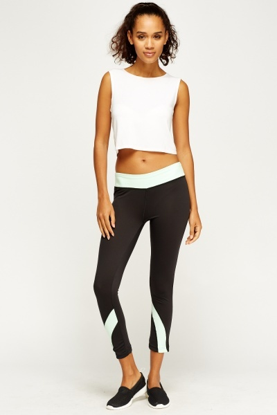Colour Block Gym Pants