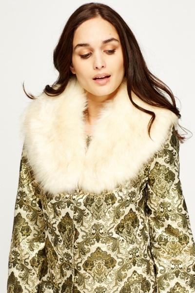 Image of Faux Fur Collar