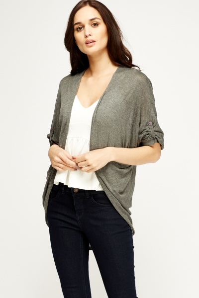 Image of Thin Knit Flare Cardigan