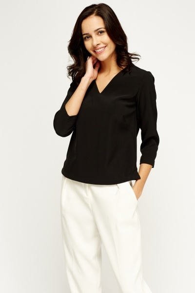 V-Neck Box Top