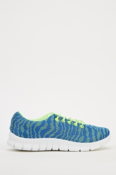 Speckled Low Top Trainers