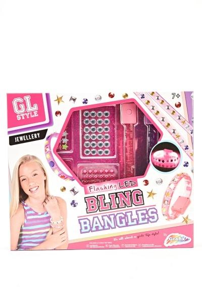 Image of Girl's Creativity Flashing Led Bling Bangles