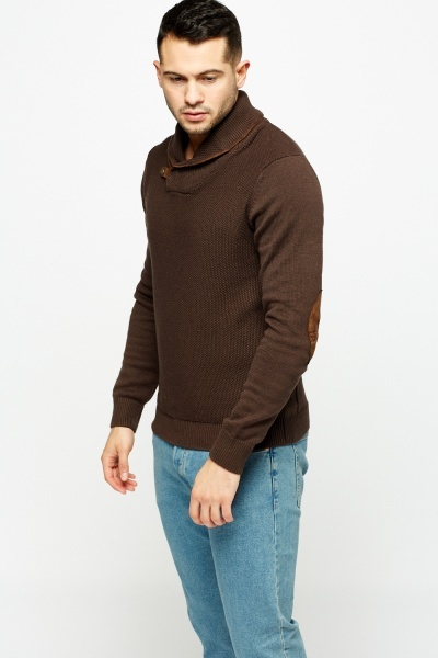 Detailed Neck Sweater
