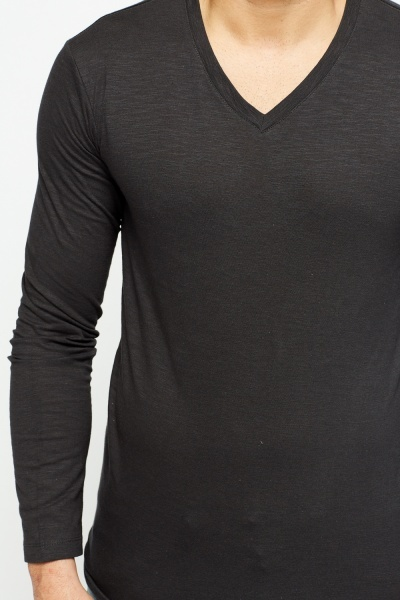 Pack Of 3 Long Sleeve Tops