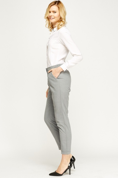 Formal Light Grey Trousers