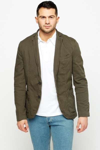 Loose Lapel Casual Jacket