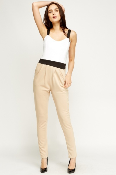 Colour Block Jumpsuit