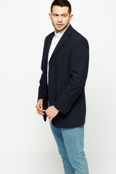 Formal Navy Jacket