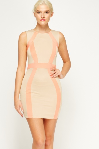 Bandage Pencil Dress