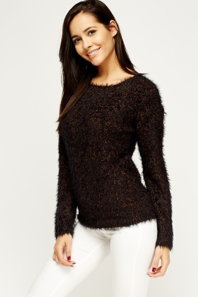 Eyelash Bubble Knit Jumper