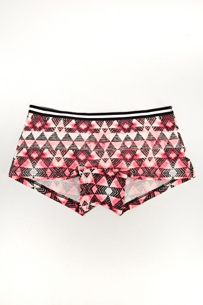 Pack Of 5 Pink Printed Briefs