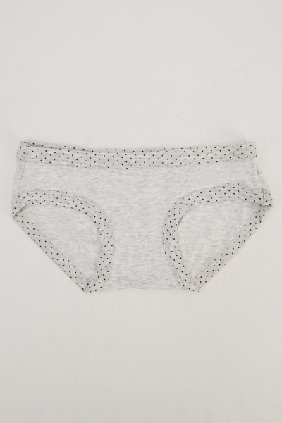 Pack Of 5 Polka Dot Briefs