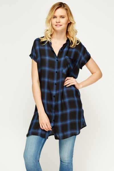 Checked Grid Shirt