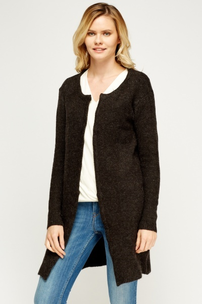 Knitted Long Cardigan