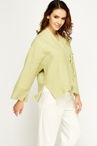 Lime Box Wrapped Jacket