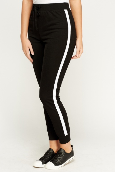 Skinny Fit Side Stripe Joggers Just 163 5