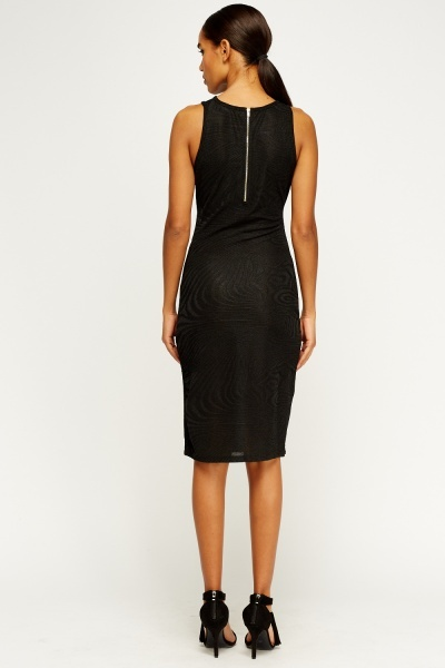 Detailed Bodycon Dress