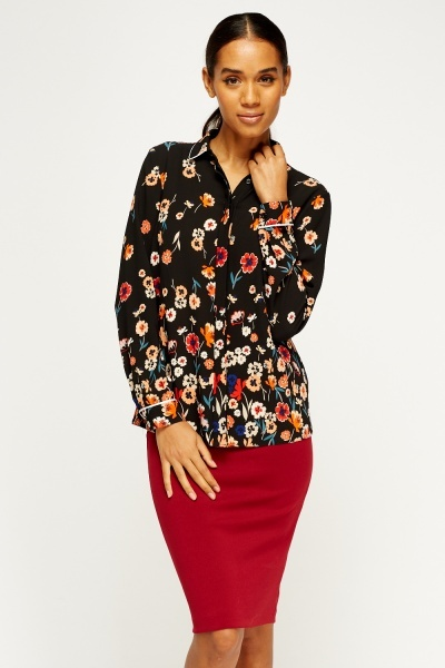 Floral Printed Blouse
