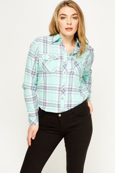 Checked Casual Shirt