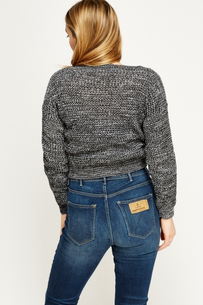Speckled Knit Jumper