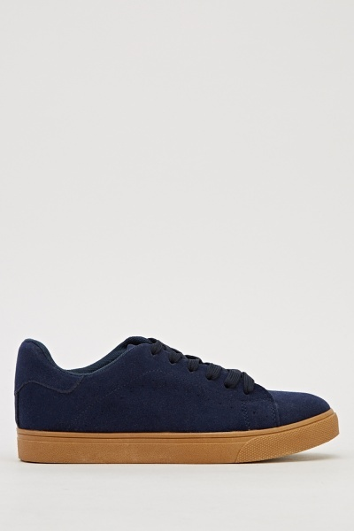 Low Top Laced Plimsolls
