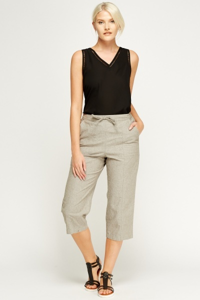 3/4 Casual Trousers