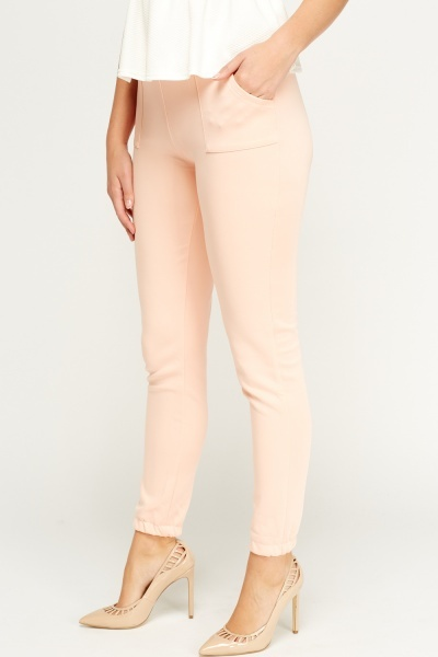 Elasticated Casual Trousers