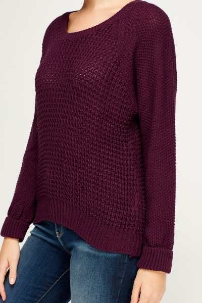 Loose Knit Basic Jumper