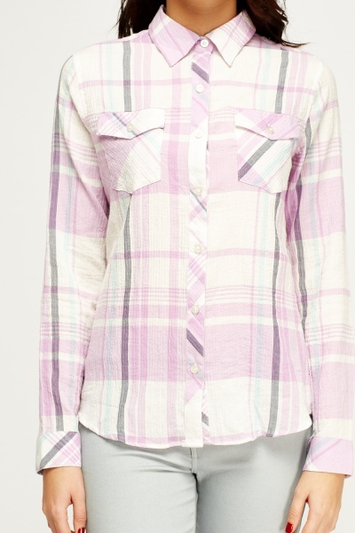 Lilac Stripe Shirt
