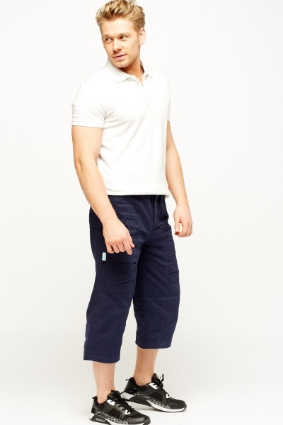 Cropped Combat Shorts