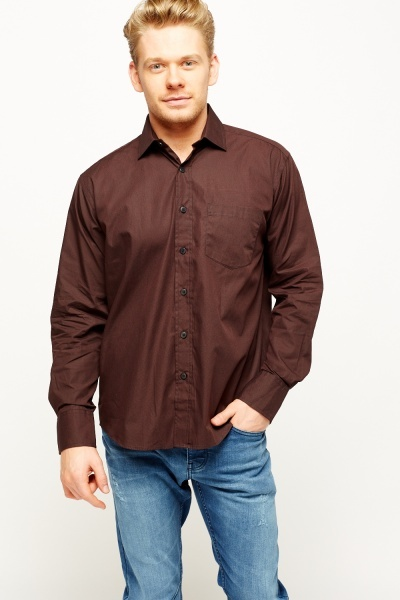 Wine Formal Shirt