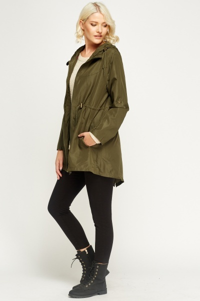 Casual Parka Jacket