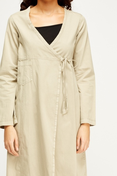 Sand Wrap Duster Jacket