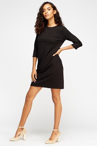 Black Swing Dress