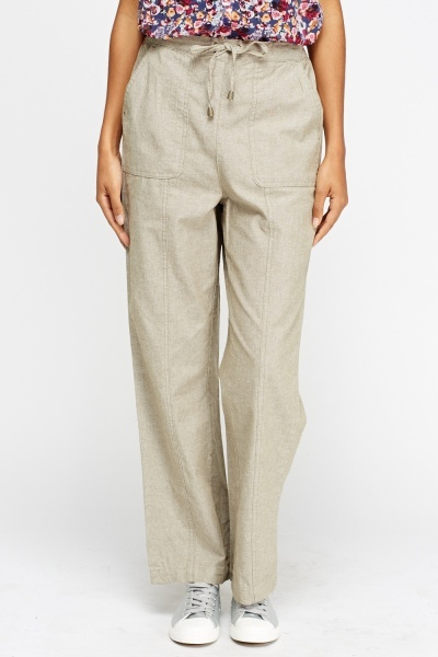 Light Weight Elasticated Trousers