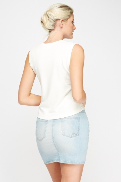 Pocket Front Tank Top