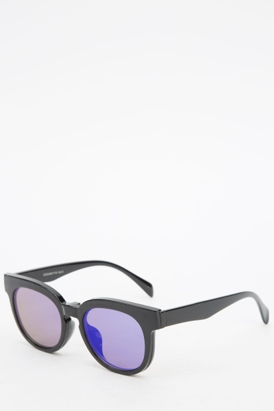 Magnetic Mirrored Detachable Sunglasses