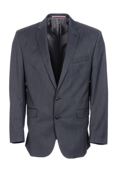 Ben Sherman Kings Fit Plain Twill 2 Piece Suit