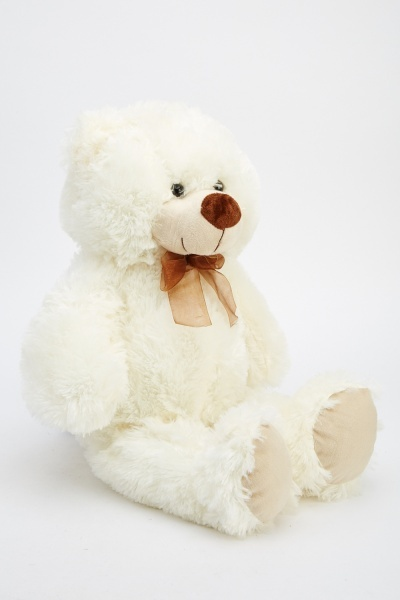 Cream Teddy Bear