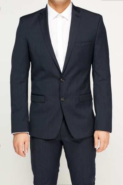 Ben Sherman Camden Fit Mini Stripe Two Piece Suit