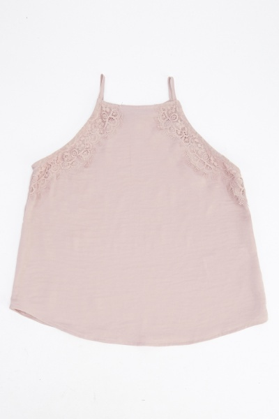 Girls Satin Cami Top