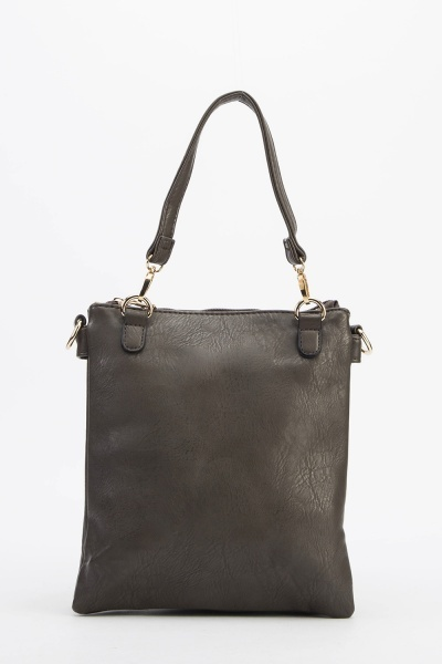 Mini Faux Leather Shoulder Bag